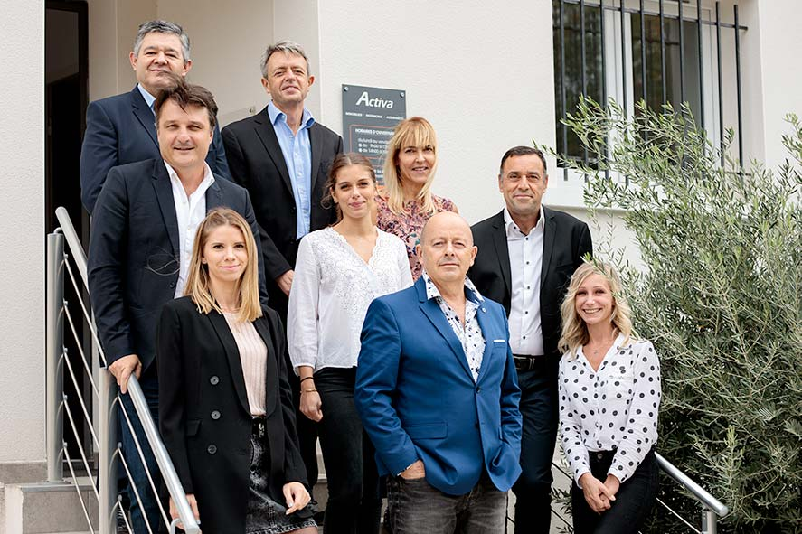 equipe activa immobilier Montpellier